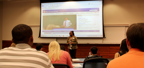 Image of Career Services Meeting