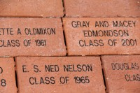 Image of commemorative bricks